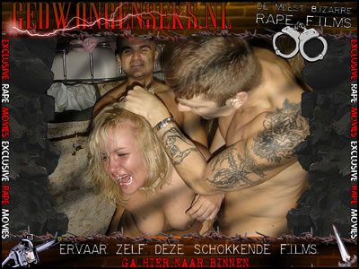 Dit zijn de meest bizarre rapesexfilms ooit! Deze mannen hebben geen genade met hun slachtoffers.