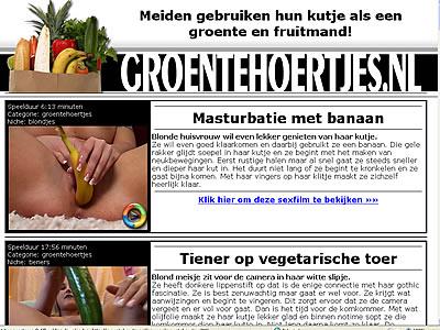 Meiden gebruiken hun kutje als een groente en fruitmand! Ze stoppen vanalles in hun kutjes oa: wortels, bananen, komkommers, courgettes en aubergines. We hebben hier sexfilms en fotoseries van.