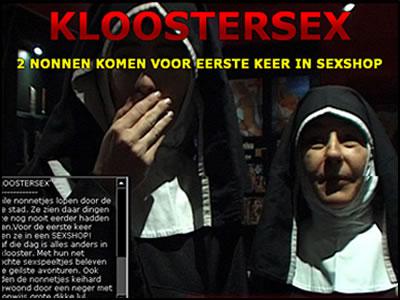 Ze ging bij het klooster om tot rust te komen, dat werd helemaal niks met al die gestoorde verkrachters die een nachtje blijven logeren in het klooster!